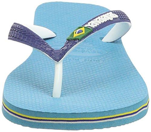 Havaianas Zehentrenner Damen/Herren Brasil Mix Mehrfarbig (blue 0031)