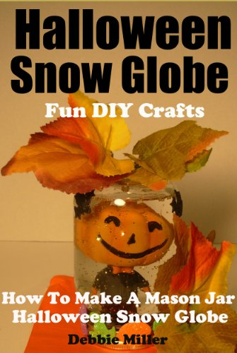 Halloween Snow Globe Fun DIY Crafts (How to Make A Mason Jar Halloween Snow Globe) ()
