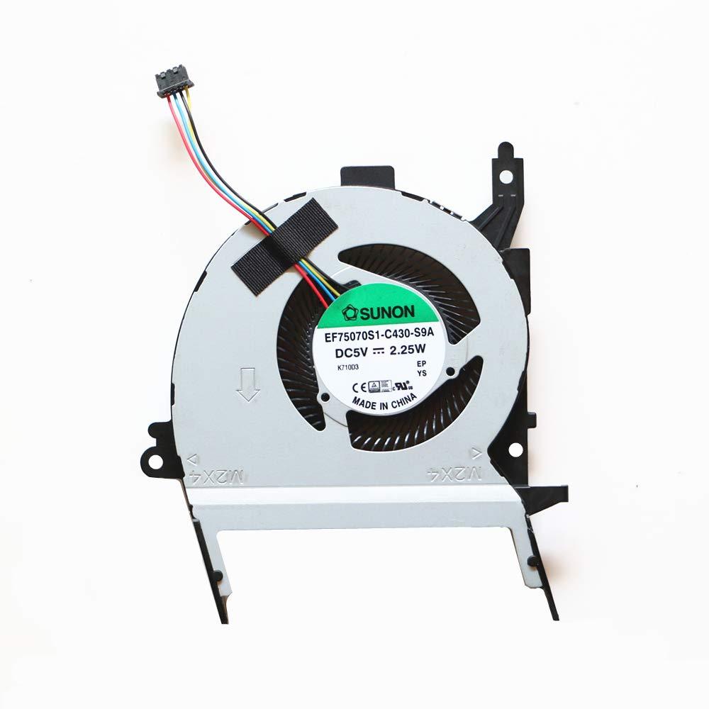 Cooler para ASUS X556 X556U X556UQ A556U X556UB FL5900U FL5900L VM591U Fan