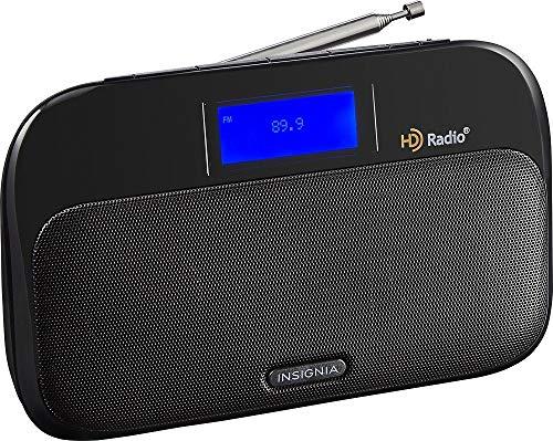 Insignia- Tabletop HD Radio - Black