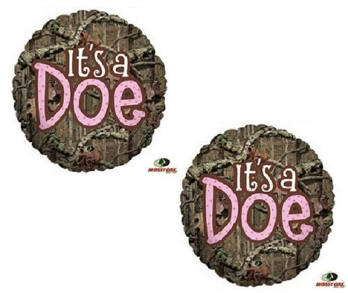 LoonBalloon-MOSSY-OAK-Its-a-Doe-Pink-Girl-Baby-Shower-Camouflage-Hunting-2-Mylar-Balloons