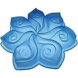 PaVONI moule fleur de calla - bleu