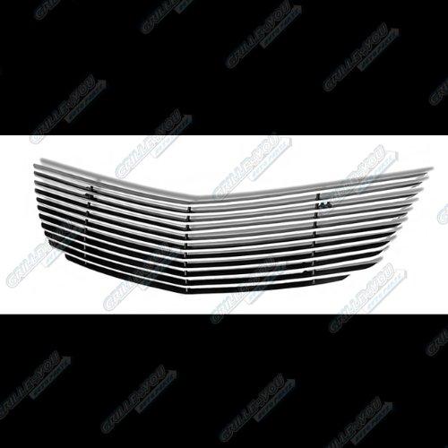 APS C65741A Polished Aluminum Billet Grille Bolt Over for select Chevrolet Impala Models