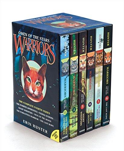 Warriors The Prophecies Begin Book 3: Cheapest Copy Of Warriors: Omen Of The Stars Box Set