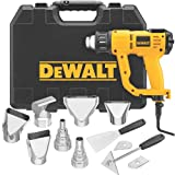 DEWALT D26960K Heavy Duty Heat Gun with LCD Display, Yellow