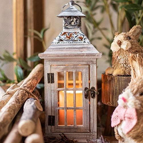 庭の装飾品錬鉄ブラシホワイトホースライト木製フロントガラス床ランプ庭の像庭の風景芝生装飾工芸品ギフト大