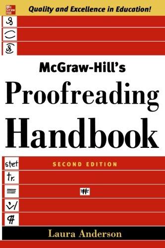 McGraw-Hill's Proofreading Handbook (Killen Mall)