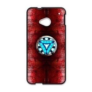 Iron man heart Phone Case for HTC One M7 wangjiang maoyi