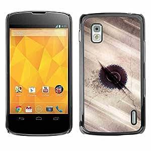 Shell-Star ( Abstract Art ) Fundas Cover Cubre Hard Case Cover para LG Google NEXUS 4 / Mako / E960
