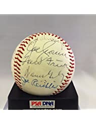 1967 Hall Of Fame Induction Day Signed Baseball PSA DNA George Weiss Ford Frick