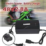 Eachbid 48V 2.8A 20AH US Plug Lead Acid Charger for Electric Car E-Bike Scooter Type T