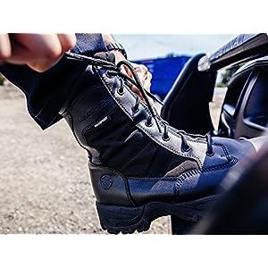 Smith & Wesson Men's Breach 2.0 Tactical Waterproof Side Zip Boots, Black, 9.5W