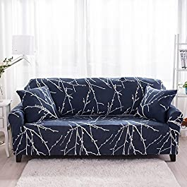 Hipinger Spandex Fabric Stretch Couch Cover Sofa Slipcover Stylish Furniture Protector