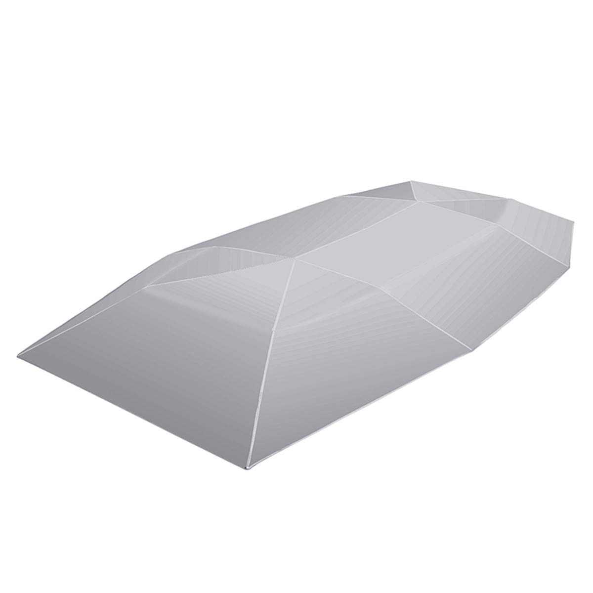 Jiaboyu Car Umbrella Sun Shade Cover Tent Cloth Universal UV Protect-Protection Car Umbrella Sunproof Sun Shade Canopy Cover Universal-Oxford Cloth+Polyester Shade Cover (Silver 4X2.1M) by Jiaboyu