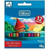 Giz de Cera, Tilibra, Académie, 12 Cores