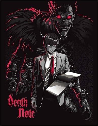 Amazon Death Note Best Anime Coloring Book Activity 9781979981064 Arigato Godzu Books