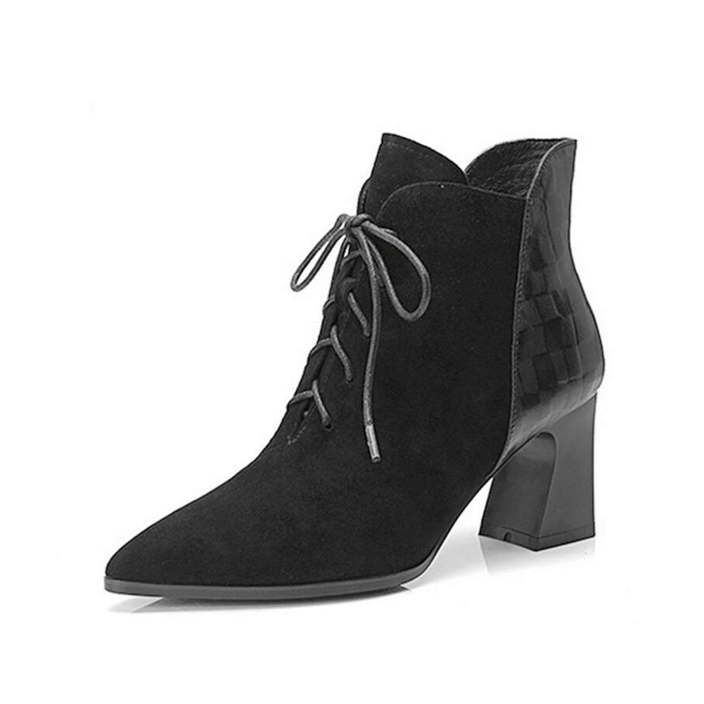 5207fbbedd5c3 Amazon.com: YaXuan Women's Ankle Boots, Fashion Knight Boots, Autumn ...