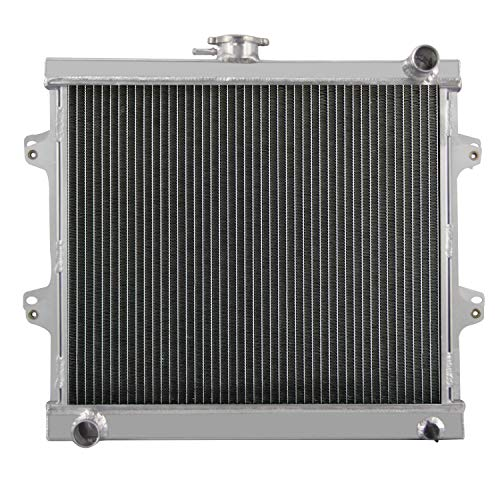 CoolingCare All Aluminum Radiator for 1984-1995 Toyota 4Runner Pickup 2.4L L4 Engine MT (Toyota Truck Radiator)