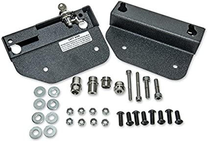 Easy Brackets Quick-Release Saddlebag Mounting Kit for Indian Chief Classic and Chief Dark Horse