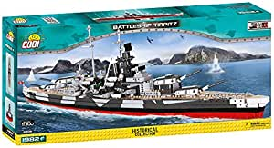 Cobi Historical Collection /4809/ Battleship TIRPITZ 1982 Building Bricks
