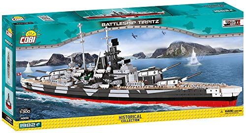 COBI Historical Collection Battleship Tirpitz