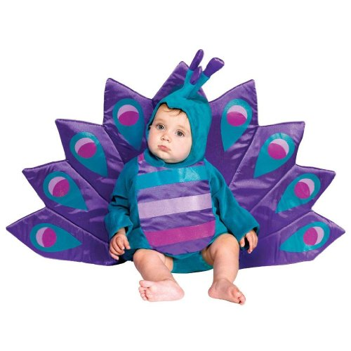 Baby Peacock Costume - Toddler Small