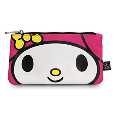 Hello Kitty My Melody Large Face School Pencil Case