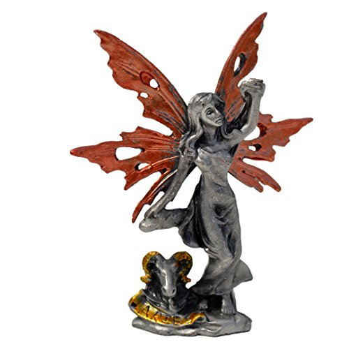 Pixie Glare Zodiac Signs Pewter Fairies Figurine Collectible Statue. All 12 Signs Available (Aries)
