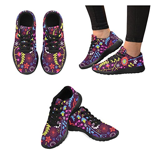 Lightweight Jogging Womens Walking InterestPrint Shoes Running Athletic Sports Road Sneakers qXZdUFw