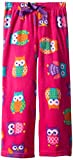 Komar Kids Big Girls Micro Fleece Pant Owl Print