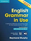 capa de English Grammar in Use Book with Answers and Interactive eBook: Self-Study Reference and Practice Book for Intermediate Learners of English