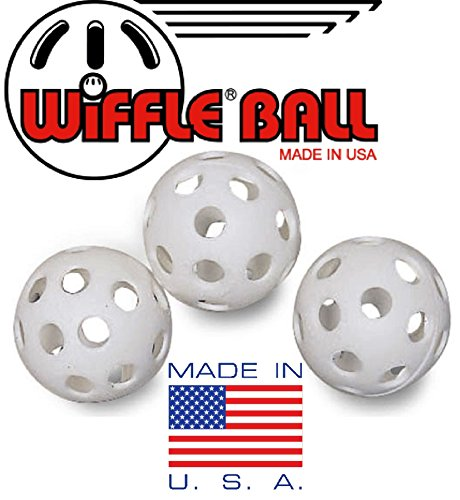 Wiffle Plastic Practice Golf Balls 36 Pack with Exclusive ''Matty's Toy Stop'' Storage Bag by Wiffle (Image #2)