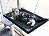 PUPTECK Cat Window Perch Mounted Safety Cat Bed Weighted up to 30lb