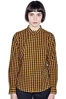 Fred Perry Women's Classic Ginham Shirt Peanut 8US