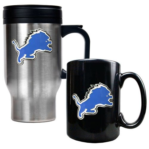 detroit lions coffee mug set - 2