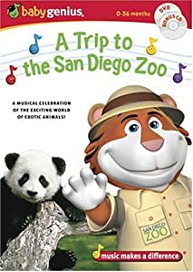 Baby Genius - A Trip to the San Diego Zoo (w/ bonus music CD)