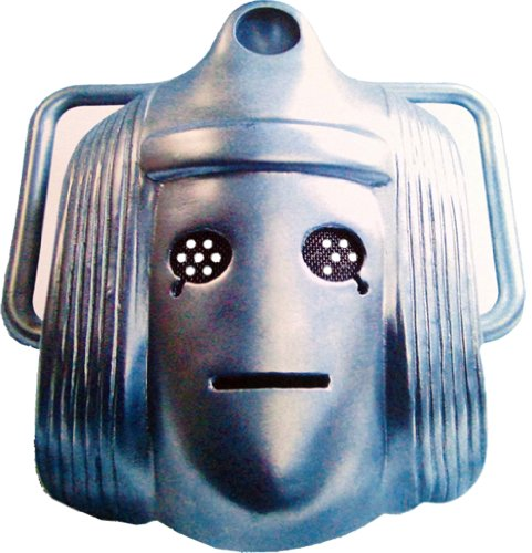 Doctor Who - Classic Cyberman - Card Face (Doctor Who Cyberman Costume)