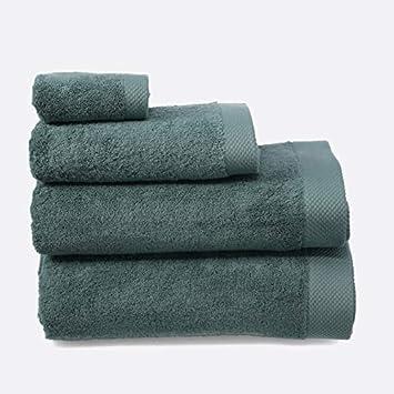 LA MALLORQUINA Toalla algodón Peinado - Basic LM Gris - Gris, Toalla Tocador - 30x50cm: Amazon.es: Hogar