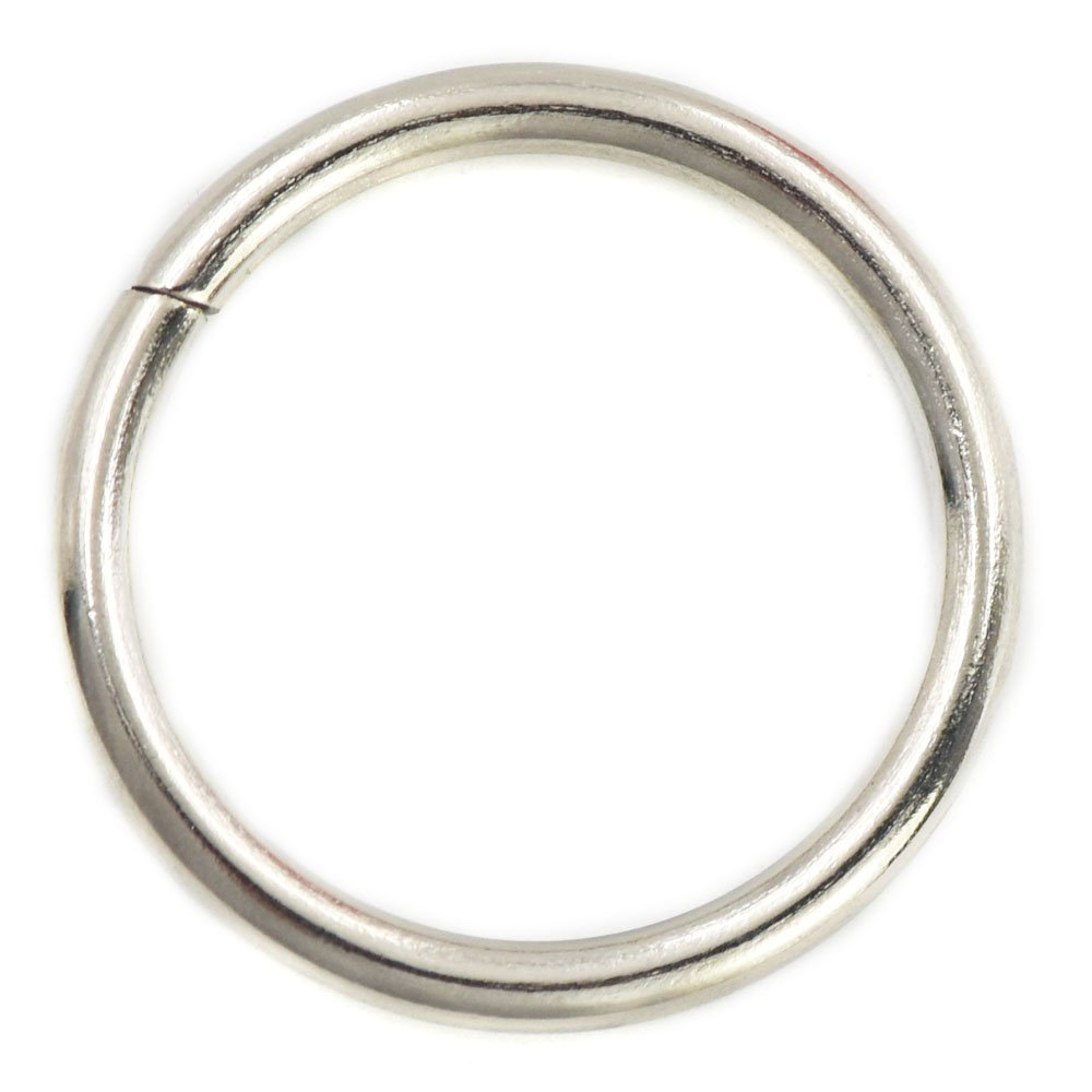 20 Pcs 25mm 1 Metal O-rings Rings Non Welded