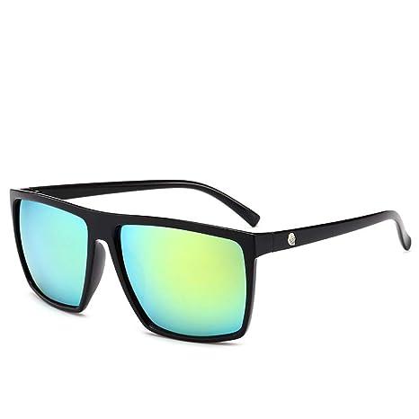 Yangjing-hl Gafas de Sol de Caja Cabeza de Calavera de Moda ...