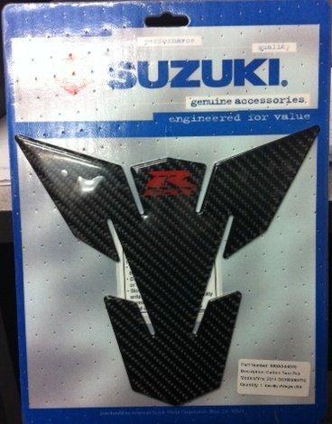 (2011-2016 SUZUKI GSXR750 GSXR600 CARBON FIBER TANK PAD- BLACK 990A0-64070 by Suzuki)