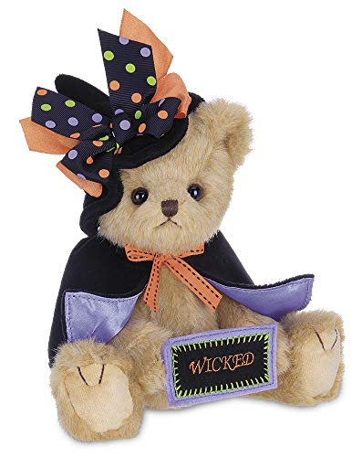 Halloween Stuffed Animals Bulk (Bearington Tricky Nikki, Plush Stuffed Animal Halloween Witch Teddy Bear, 12)