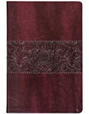 The Passion Translation New Testament (2020 Edition) Large Print Burgundy: With Psalms, Proverbs, and Song of Songs (Faux Leather) – A Perfect Gift for Confirmation, Holidays, and More