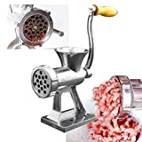 Stainless Steel Manual Meat Grinder ixaer Multifunction Meat Meat Grinder with Long Tube