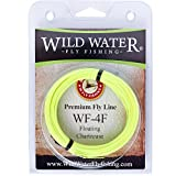Cheap Wild Water Weight Forward Floating 4-Weight Yellow Fly Fishing Line, 90 ft