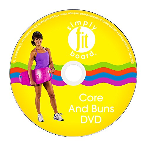 Simply-Fit-Board-Workout-DVDs-21-Day-Challenge-DVD-Core-Buns-DVD-Low-Impact-DVD