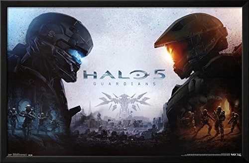 Halo 5 - Key Art Lamina Framed Poster - 35.75 x 23.75in.