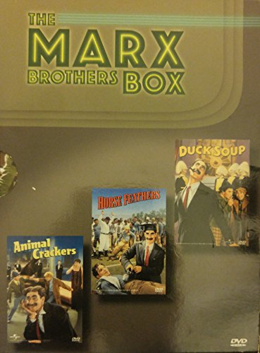 (The Marx Brothers Boxed Set (Animal Crackers / Horse Feathers / Duck Soup))
