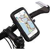 【SCGEHA】スマホ自転車ホルダー 防水 バイクにもしっかり固定 iPhone6 plus対応 S M L XL 4サイズ マウント(XL)