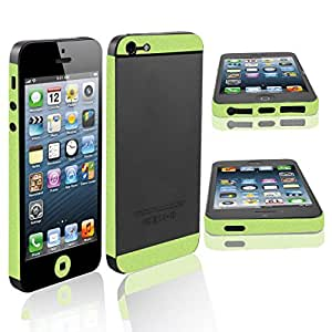 Ajuste lateral etiqueta engomada de la etiqueta de broche escudo para Apple iPhone 5 5G
